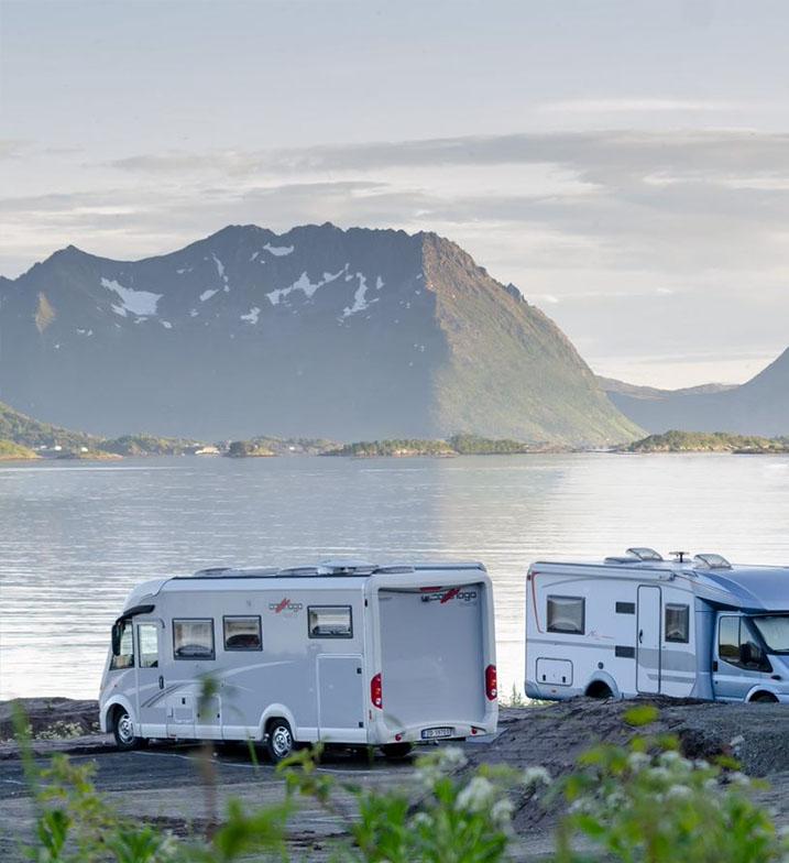 Campingplassen på Skaland